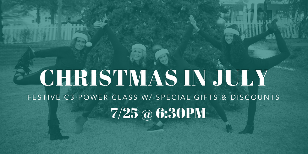 Christmas Yoga in July