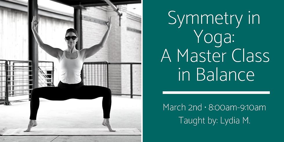 Symmetry in Yoga