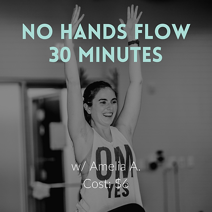 30 Minute No Hands Flow