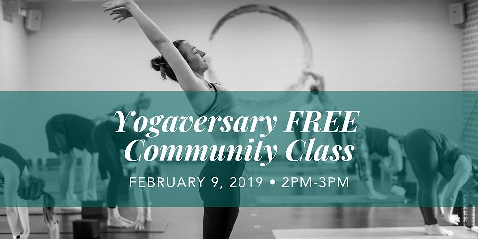 Yogaversary FREE Community Class