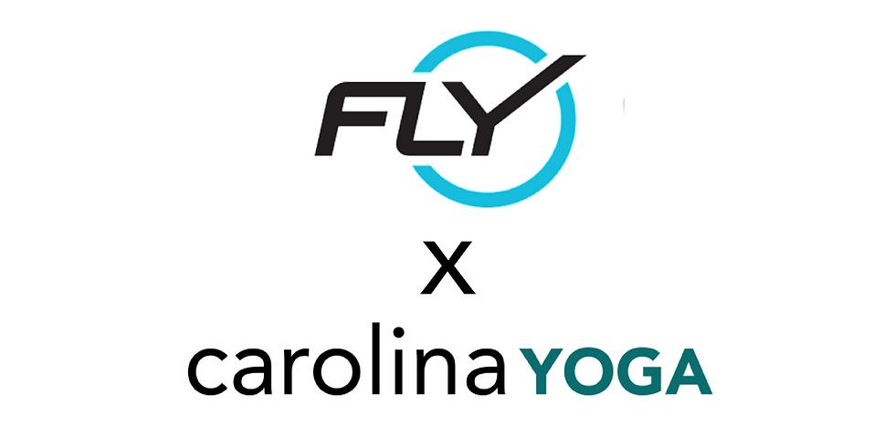 FlyBarre x Carolina Yoga