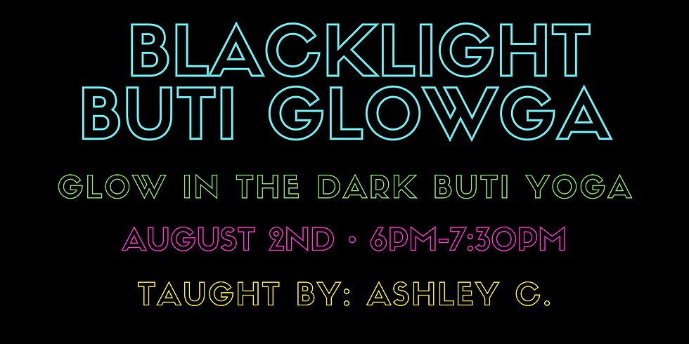 Buti Blacklight Glowgo