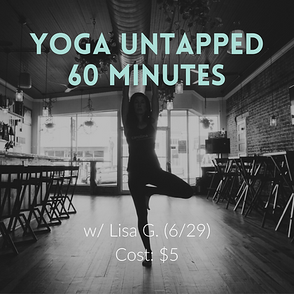 Yoga Untapped (6/29)