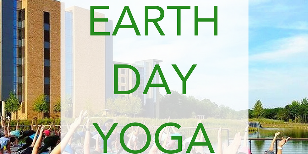 Earth Day Outdoor Yoga at the Amphitheater