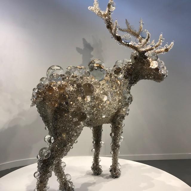 PixCell-Maral Deer by artist Kohei Nawa