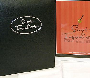 Secret Ingredients Cookbooks
