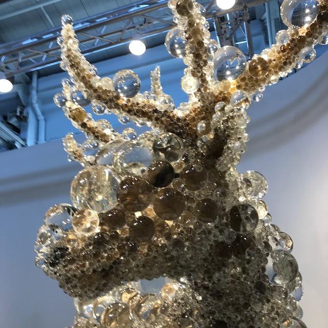 Reindeer sculpture at FOG Design & Art