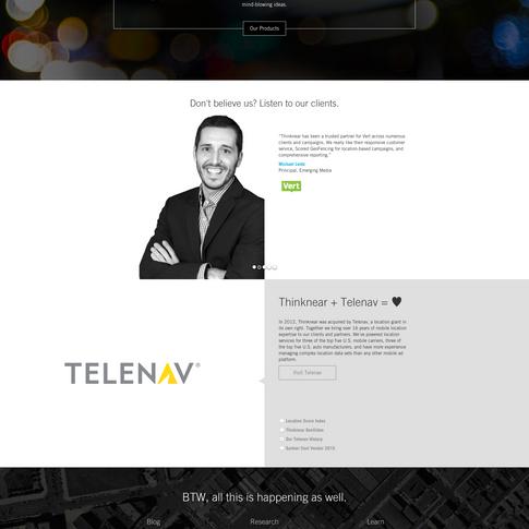 Thinknear Website