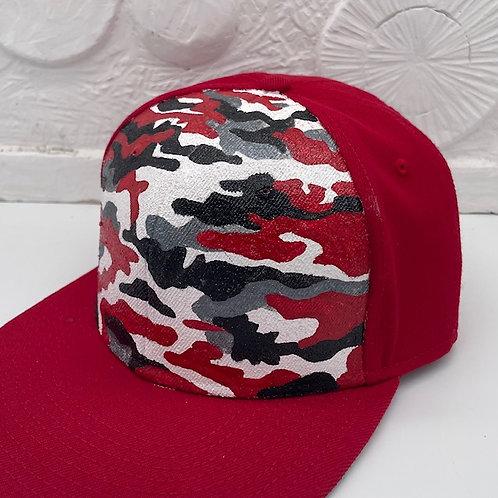 Camouflage  crack CAP