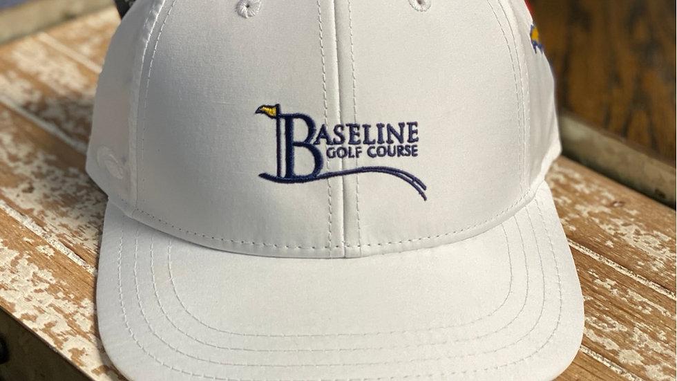 Baseline Logo Hat White