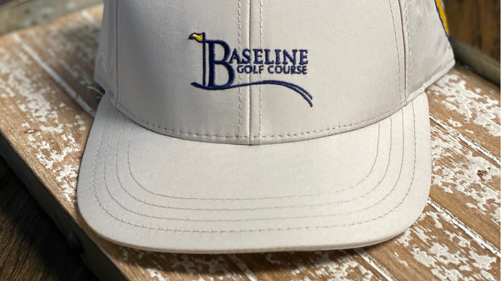 Baseline Logo Hat Stone