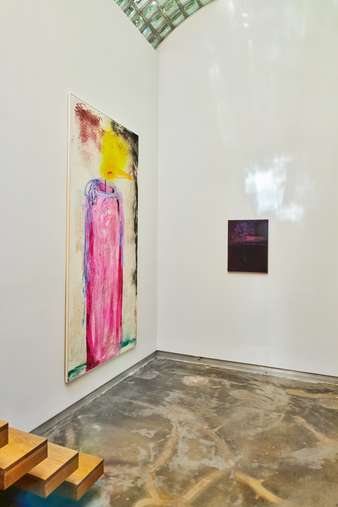 INSTALLATION VIEW OF ALEX EAGLETON, THE OCEAN SHRUGS, MISTER FAHRENHEIT, NEW YORK, 2020. PHOTO BY BRETT MOEN