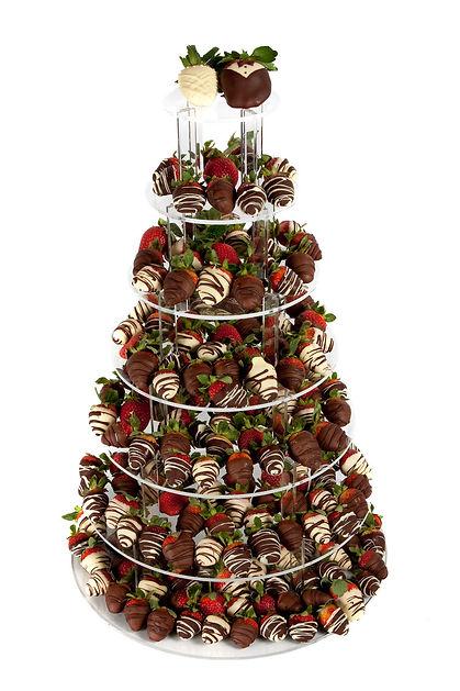 Fruity Fountains 7 Tier Chocolate Strawb