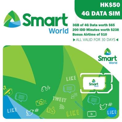 Smart World | 4G DATA SIM