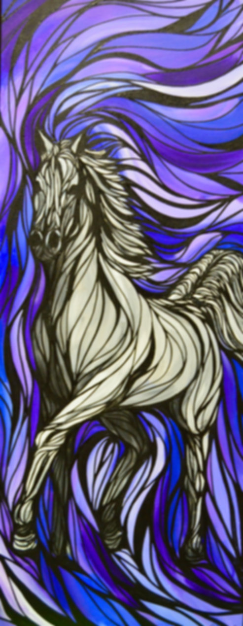 Arabian Horse Running