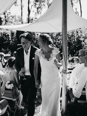 Pop Up Bruiloft in de boomgaard