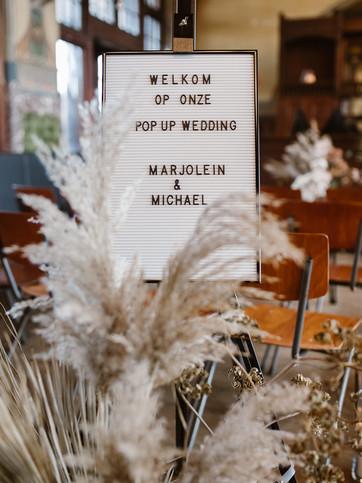 Pop Up bruiloft in de stad