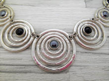 Silver and hematite necklace.jpg