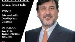 ELSA Adana ELSA Talks: İsmail Esin