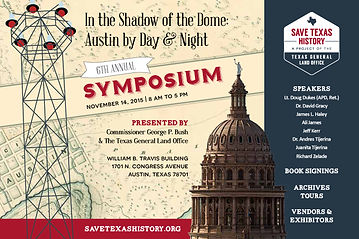 Texas General Land Office history symposium