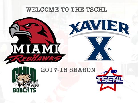 Bobcats Welcome Xavier, Miami into TSCHL for 2017-18 Season