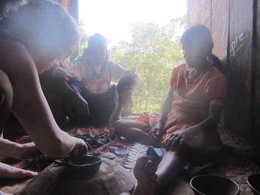 Quechua Lamista artisan