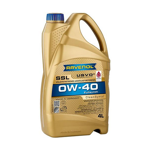 RAVENOL USVO SSL 0W-40 Engine Oil