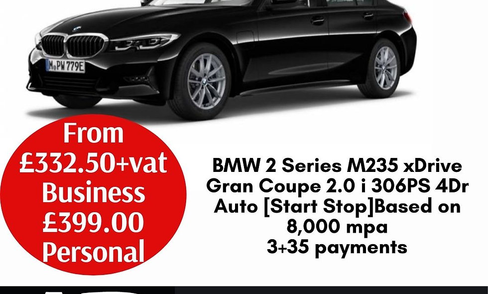 BMW 2 Series M235 xDrive Gran Coupe 2.0 i 306PS 4Dr Auto [Start Stop]