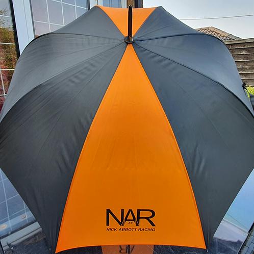 Nick Abbott Racing Umbrella