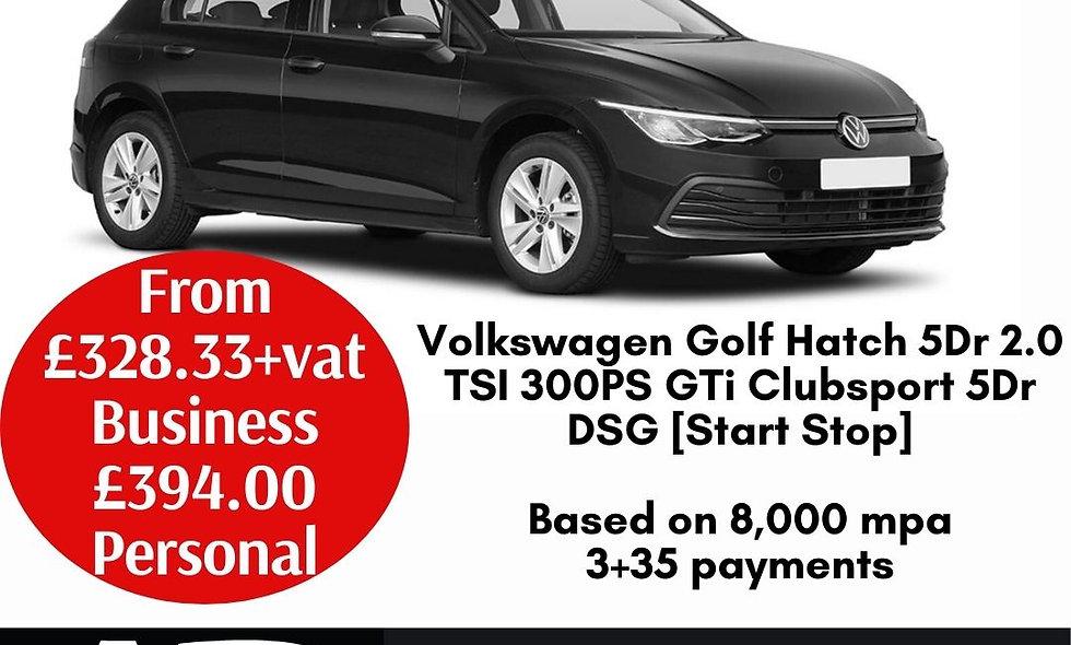 Volkswagen Golf Hatch 5Dr 2.0 TSI 300PS GTi Clubsport 5Dr DSG [Start Stop]