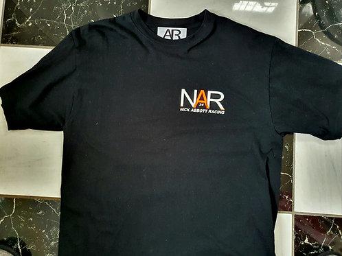 Nick Abbott Racing Crew Neck T - Shirt