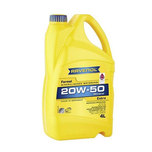 RAVENOL Formel Extra 20W-50 Engine Oil