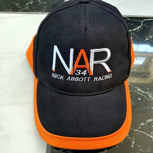Nick Abbott Racing Cap