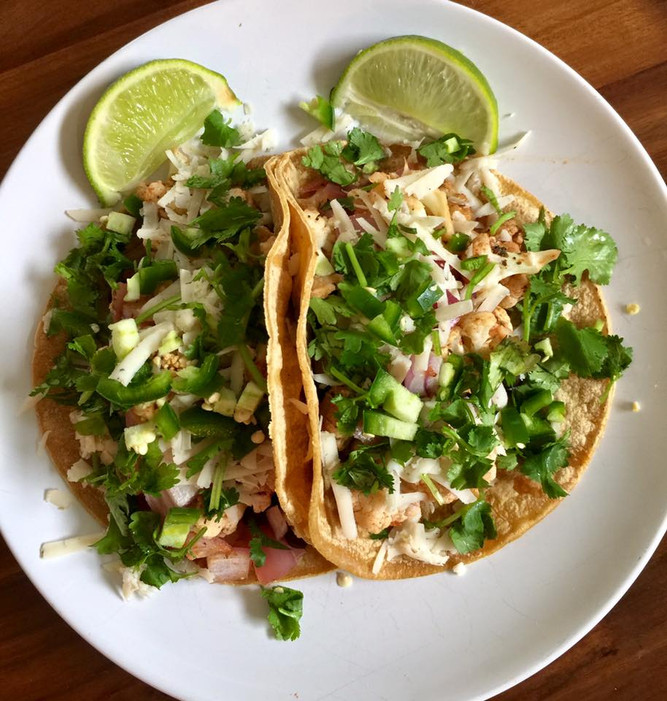 Vegan (Spicy) Lime Cauliflower Tacos