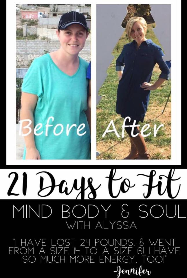 Jennifer LOST 24 Pounds!!