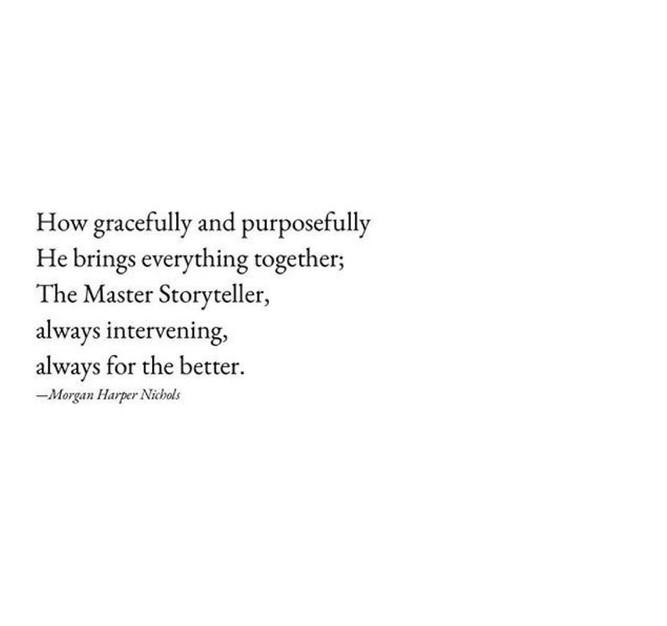 I Surrender to the Storyteller