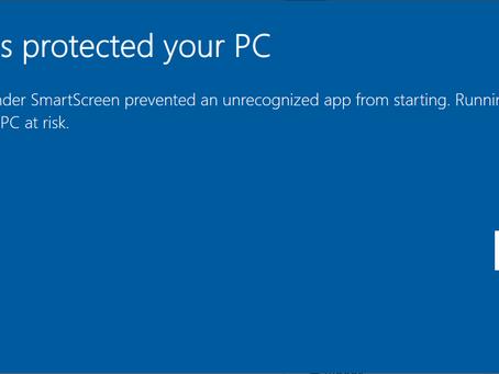 Windows Code Signing