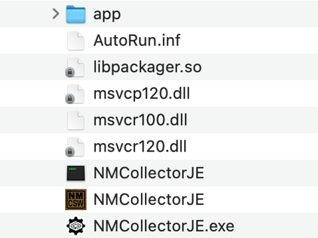Running NM Collector JE Version 4.0.2 on a Mac