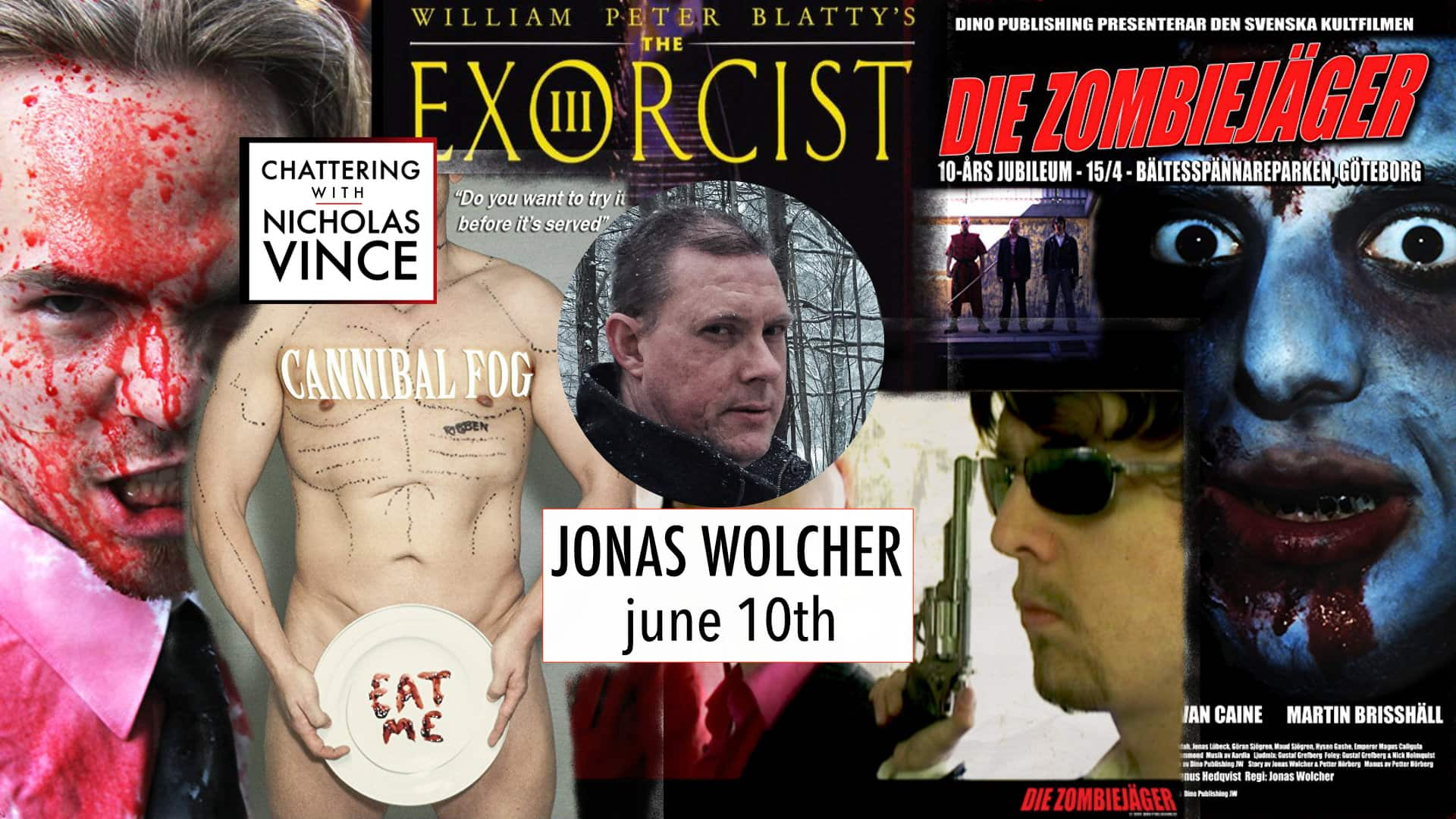 Chattering with Jonas Wolcher