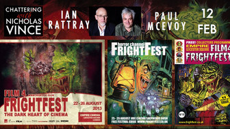 Chattering with Ian Rattray and Paul McEvoy about FrightFest