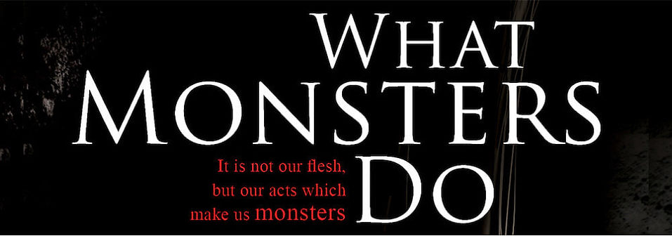 Cover for What Monsters Do