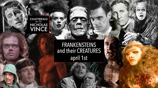 Graphic for Chattering about Frankensteins and their Creatures