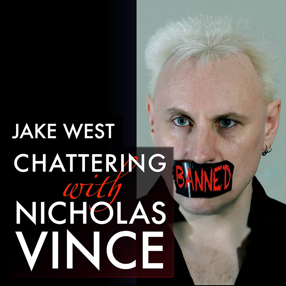 Jake West Chattering with Nicholas Vince