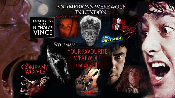 Graphic for Chattering about your favourite werewolf
