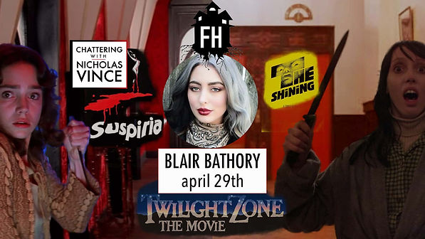Graphic for Chattering with Blair Bathory