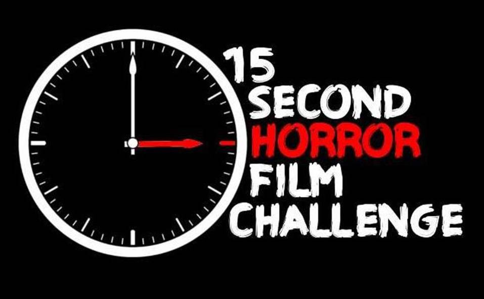15 second horror film challenge logo