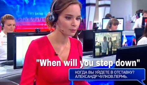 Russia Media Trolls Putin