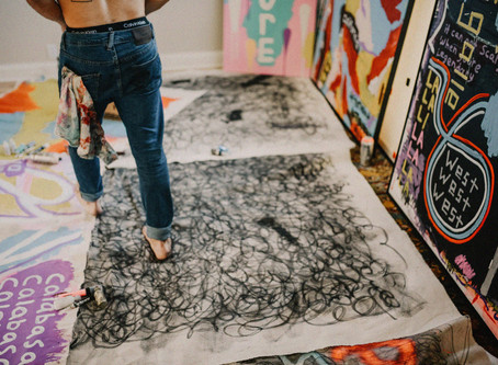Beautiful Chaos - A vision brought to life by two local artists.
