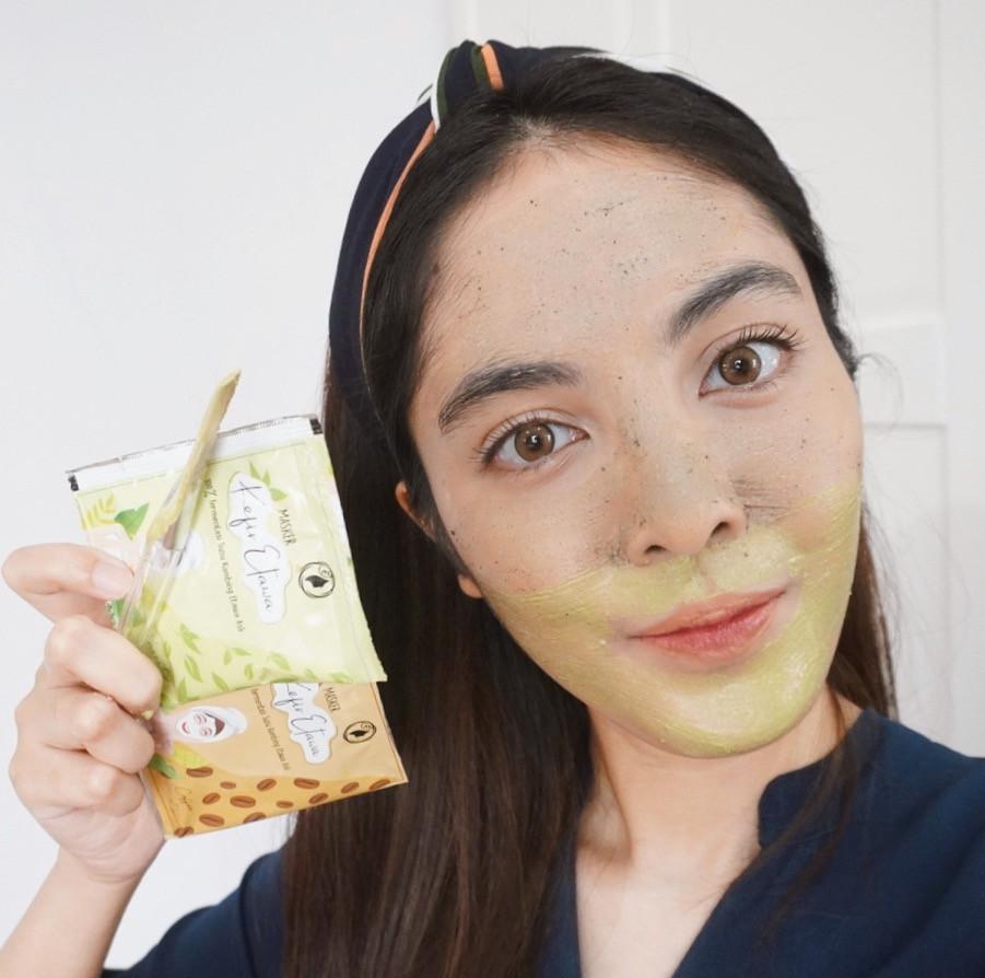 review masker kefir