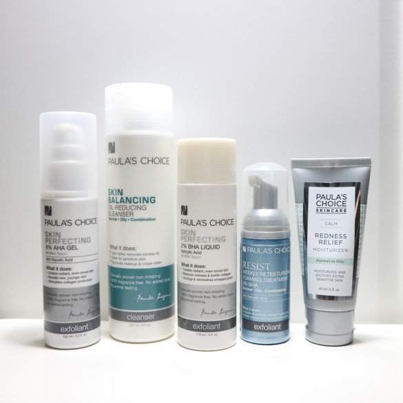 REVIEW Paula's Choice Skin Balancing Oil-Reducing Cleanser & Calm Redness Relief Moisturizer